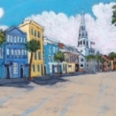 """Charleston Day"" | Acrylic | 12""x24"""