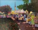 """Charleston Farmers Market"" | Acrylic | 16""x20"""
