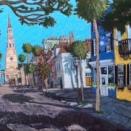 """Church Street, St. Philips"" | Acrylic | 24""x36"""