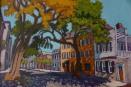 """State Street - Spring"" | Acrylic | 18""x24"""